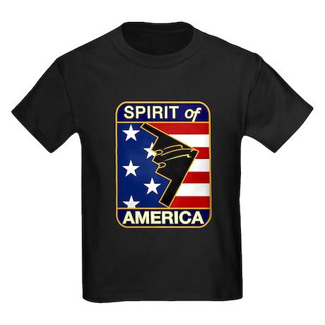 B-2 Stealth Bomber Kids Dark T-Shirt