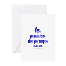 Yes ($100) Greeting Cards (Pk of 10)