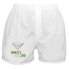 Dirty Thirty Boxer Shorts