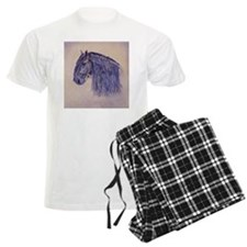 Friesian Horse pajamas