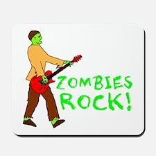 Zombies Rock! Mousepad