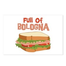 Full Of Bologna Postcards (Package of 8)