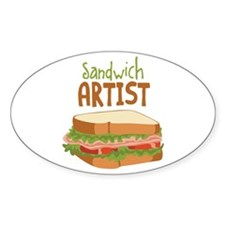 Sandwich Artist Decal