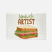 Sandwich Artist Magnets