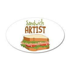 Sandwich Artist Wall Decal