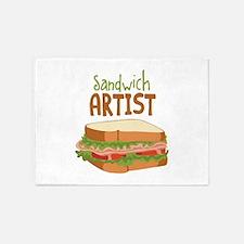 Sandwich Artist 5'x7'Area Rug