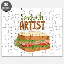 Sandwich Artist Puzzle