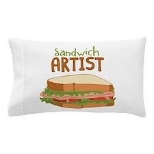 Sandwich Artist Pillow Case