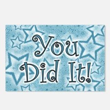 You did it! Postcards (Package of 8)
