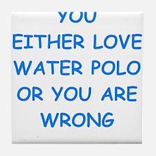 WATER Tile Coaster