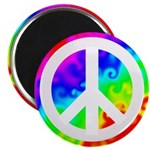 Groovy Peace Sign Magnet