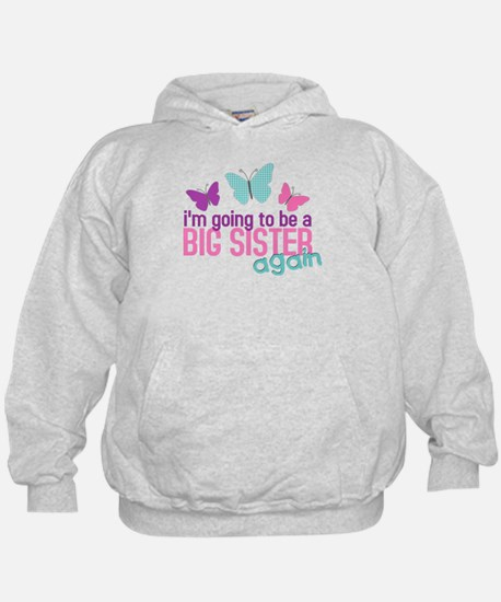 butterfly big sister to be Hoodie