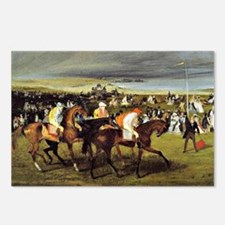 Degas - At the Races, The Postcards (Package of 8)