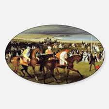 Degas - At the Races, The Start Decal