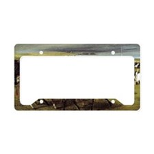 Degas - At the Races, The Sta License Plate Holder