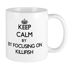 Keep calm by focusing on Killifish Mugs