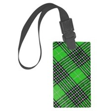 Checkered 002 Luggage Tag