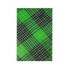 Checkered 002 Rectangle Magnet