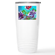011 Batik Art Language  Travel Mug