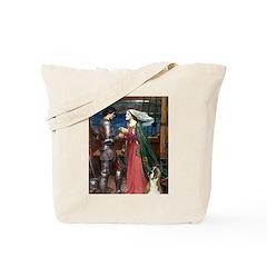 Knight & Boxer Tote Bag