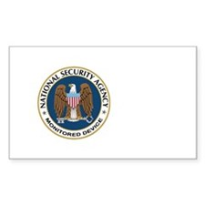 NSA Monitored Device Decal