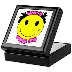 Have A Nappy Day Keepsake Box