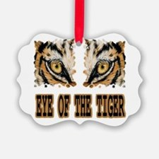 Eye Of The Tiger Ornament