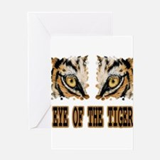 Eye Of The Tiger Greeting Cards