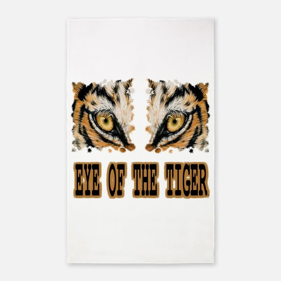 Eye Of The Tiger 3'x5' Area Rug