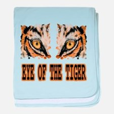 Eye Of The Tiger baby blanket