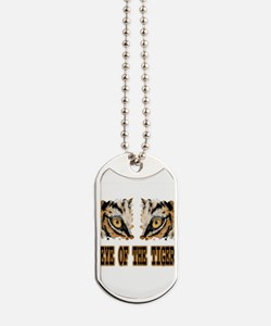 Eye Of The Tiger Dog Tags