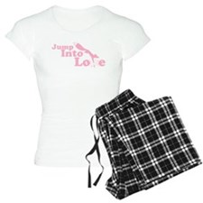 Jump into love pink Pajamas