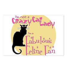 Feline Fan Postcards (Package of 8)