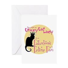 Feline Fan Greeting Card