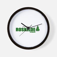 Visit Scenic Roskilde, Denmar Wall Clock