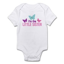 i'm the little sister butterfly Onesie