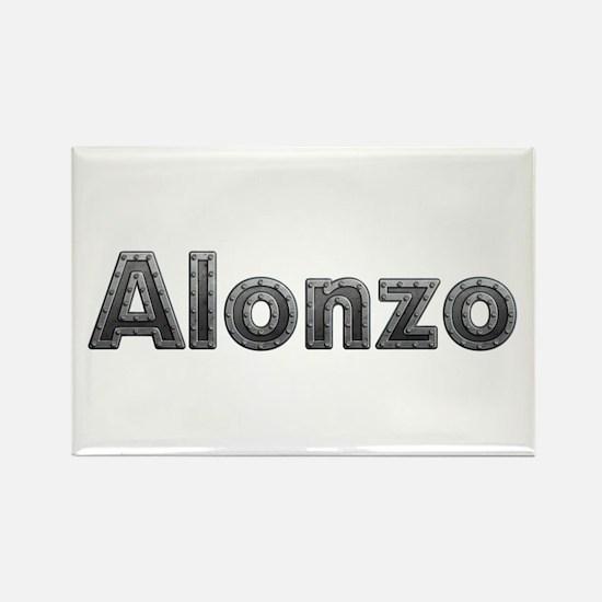 Alonzo Metal Rectangle Magnet