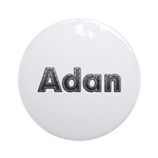 Adan Metal Round Ornament