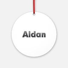 Aidan Metal Round Ornament