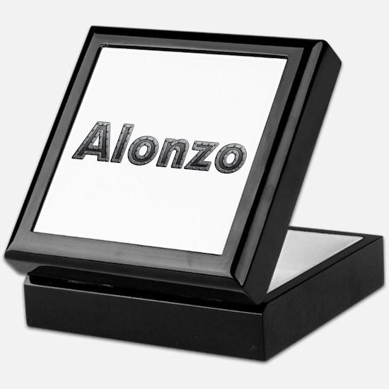 Alonzo Metal Keepsake Box