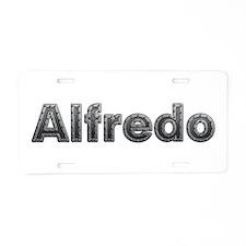 Alfredo Metal Aluminum License Plate