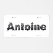 Antoine Metal Aluminum License Plate