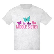 i'm the middle sister butterfly T-Shirt