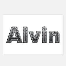 Alvin Metal Postcards 8 Pack