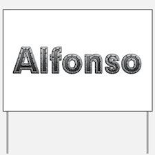 Alfonso Metal Yard Sign