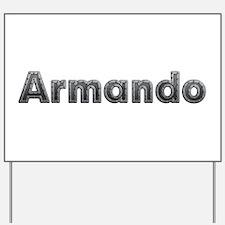 Armando Metal Yard Sign