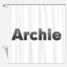 Archie Metal Shower Curtain