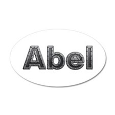 Abel Metal Wall Decal