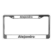Alejandro Metal License Plate Frame