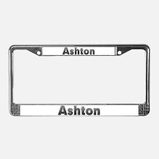Ashton Metal License Plate Frame